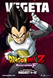 Dragon Ball Z: Resurrection F – Vegeta - US Imported Movie Wall Poster Print - 30CM X 43CM Brand New
