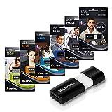 XLYNE Wave USB Stick │512Gb│USB 3.0 – Memory Stick │Push&Pull Mechanism │Windows, Mac, Linux - 5