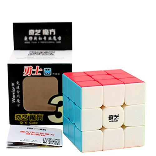 FunnyGoo QiYi Warrior W 3x3x3 Cubo de Cubo de Velocidad Cubo mágico Cubo ( sin Etiquetas )