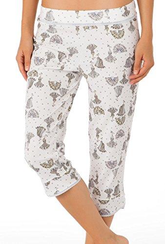 Calida Favourites Trend 8 3/4-Hose Damen Star White