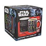 Tasse Star Wars avec sabre laser qui change de couleur au contact de la chaleur Multicolore