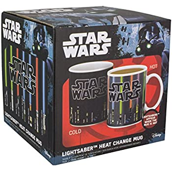 Star Wars Lightsaber Heat Change Mug, Multi-Colour