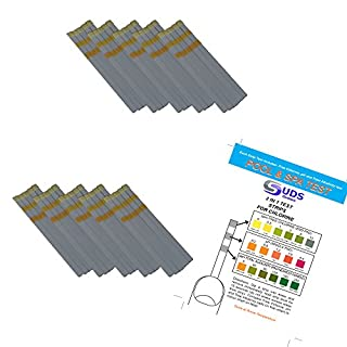 SUDS-ONLINE 50 x 3 in 1 - Chlorine Test Strips for Swimming Pools Spas & Hot Tubs - Free Chlorine, pH & TA