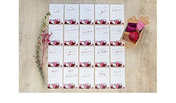 20 Meilen Stein Karten Boho Flower Zur Hochzeit Hochzeits
