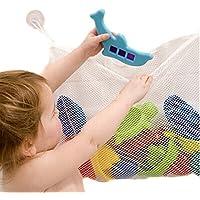 Lalang Kids Baby Bath Time Toys Storage Suction Bag Bathroom Toys Bag 45*35cm