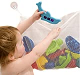 Lalang Kids Baby Bath Time Toys Storage Suction Bag Bathroom Toys Bag 45*35cm