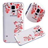 Coque Galaxy S5/S5 Neo,Étui Galaxy S5/S5 Neo,Surakey Crystal Clear Ultra...