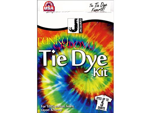 Alvin JAC9445 Funky Groovy Tie Dye Kit (Gummibänder Tie Dye)