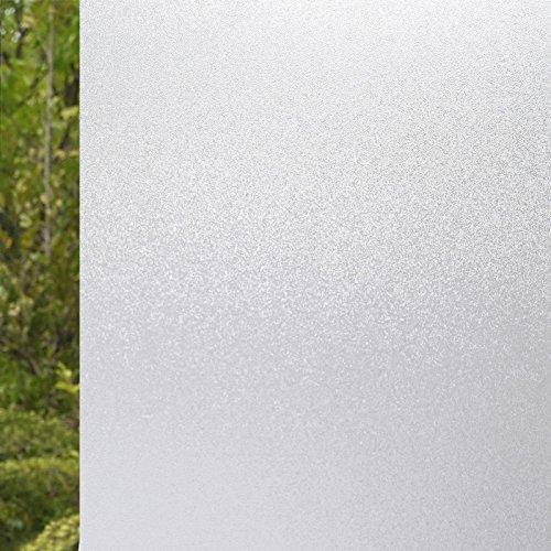 XI.W.H Transparente selbstklebende Balkon matt Aufkleber Glas film Explosionsgeschützte Membran Badezimmer Badezimmer Tür Windows, 45 cm breit Pure Matt\\m