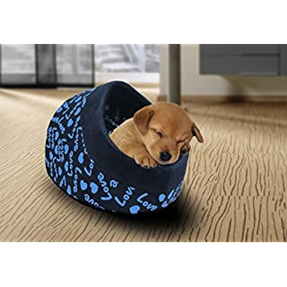 Ashley Mills Pet Bett Hund Katze Tunnel Iglu Pet Korb 36 cms x 38 cms x 26 cms