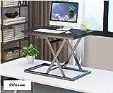 Ordinateur de Bureau Pliant Debout Portable Ordinateur de Bureau Pliant Ordinateur Bureau Table élévatrice Table Mobile Table de Travail...
