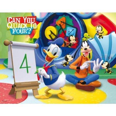 Puzzle 24 Teile 3D - Mickey und seine Freunde Donald und Dingo