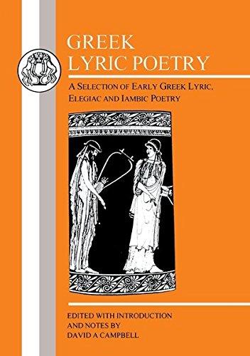 Greek Lyric Poetry: Ajax (BCP Greek Texts)