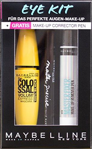 Maybelline New York Eye Kit mit gratis Make-up Corrector Pen, Geschenkset - Master Corrector