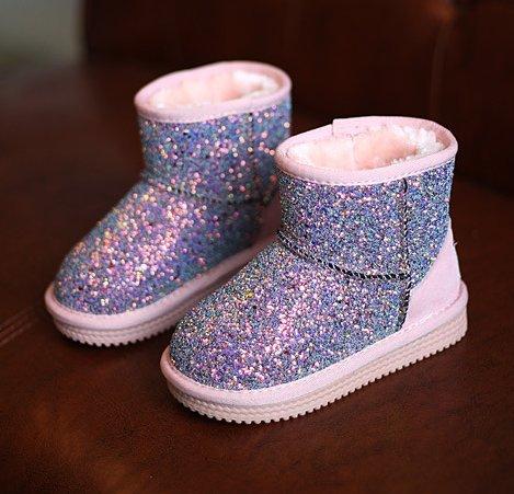 Ohmais Enfants Garçon Fille bottes et bottines botte classiques fille petit talons Chaussure Multicolore