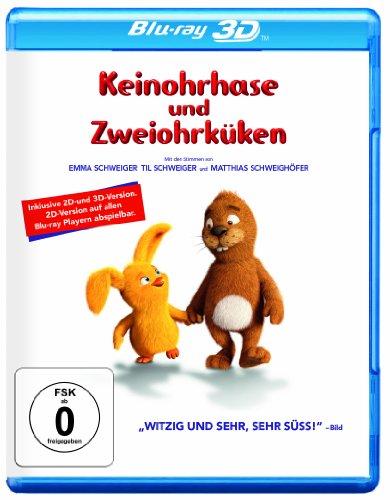 Keinohrhase & Zweiohrküken (+Blu-ray) [3D Blu-ray] -