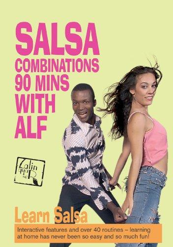 90 Minuten mit Alf - Tanzkurs: Salsa Combinations (Salsa Musik-dvd)