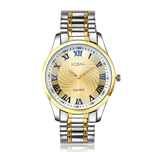 Yellow Chimes High Standard Looks White Dial Chain Strap Analog Watch For Men And Boys