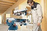 Bosch Professional GTM 12 JL, 305 mm Sägeblattdurchmesser, Sägeblatt, Schiebestock, Spannzwinge, Staubsack -