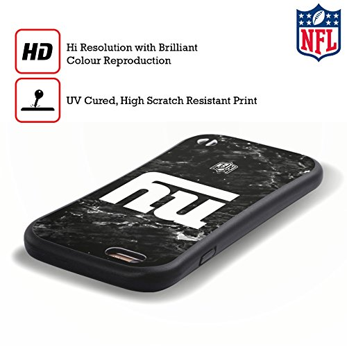Ufficiale NFL Pattern 2017/18 New York Giants Case Ibrida per Apple iPhone 6 Plus / 6s Plus Marmo