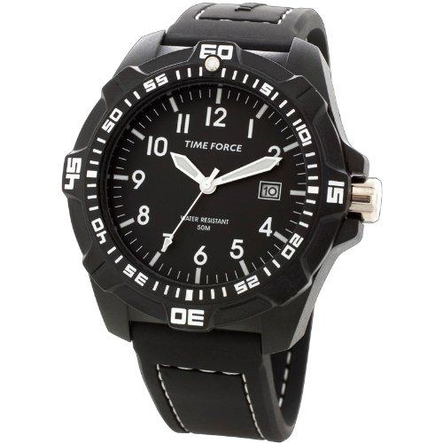Time Force TF4149M11 - Reloj de pulsera para hombre, negro
