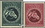 Deutsches Reich 900-901 (kompl.Ausg.) 1944 Großer Preis von Wien, Pferde (Briefmarken für Sammler)