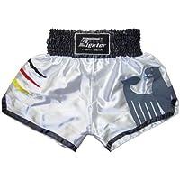 4Fighter 4FMTP-01 Muay Thai Short de boxe thaïe équipe nationale d'Allemagne