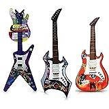 HC-Handel 916465 Elektronische Kinder Gitarre E-Gitarre Kunststoff 67 cm verschiedene Ausführungen