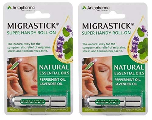 Migrastick (3ml) x 2 Pack Deal Saver by Arkopharma