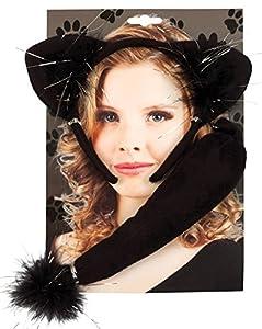 Boland 52307 - Disfraz Set Gato, Cinta Alicia y la cola