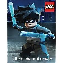 Lego libro de colorear: Un 60 encantador libro de colorear páginas para niños de 3 años. Todos los últimos personajes de caballeros de Nexo y Ninjago ... sospechosos habituales en todo mundo de lego.