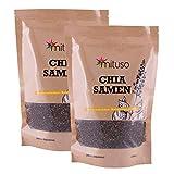 Mituso - Graines de chia, sachet de 2kg - vegan et sans gluten, source d'oméga-3 et d'oméga-6