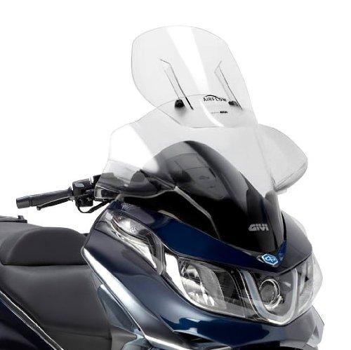 Preisvergleich Produktbild Tourenscheibe Givi Airflow Piaggio X10 125/350/500 12-13 klar