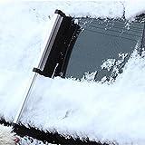 Snow Brush & Eiskratzer ausziehbar Snow brush-snow entfernen Auto Truck SUV Windschutzscheibe glass-lightweight stabile Aluminium Design