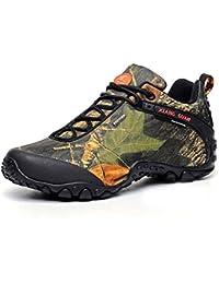 XIANG GUAN(Oferta por tiempo limitado)Zapatos de Deporte y Aire Libre, Zapatillas Resistente al Agua para Senderismo y Montaña para Hombre y Mujer 81289