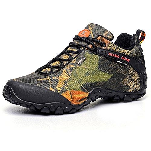 XIANG GUAN Scarpe da escursionismo basse idrorepellente da trekking da passeggio da ginnastica 81289 Multicolore