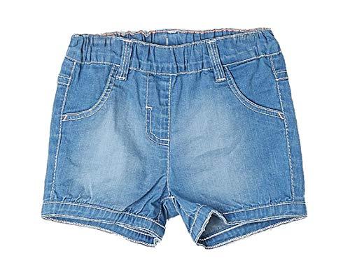 s.Oliver Junior Baby-Mädchen Shorts 56.899.72.0743 Blau (Blue Denim Stretch 54Z1), Herstellergröße:86/REG