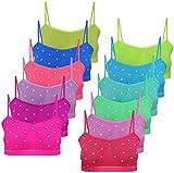 PiriModa 12 Mädchen Bustier Punkte Design Mikrofaser (152-164)