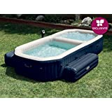 Intex - Spa con piscina hinchable Intex fibertech 3,86x2,57x71 cm - 28492