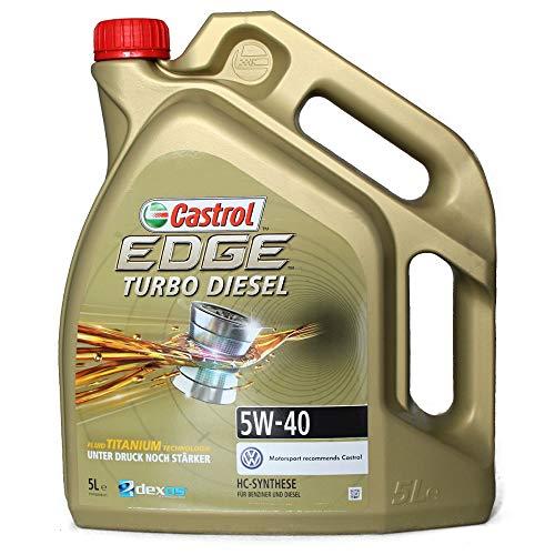 Castrol Edge Turbo Diesel Titanium FST 5W-40 Tanica 5 LT