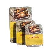 FAKDR BBQ USA e Getta - Barbecue Portatile per Esterno Senza Forno (Dimensioni : 31x48cm)