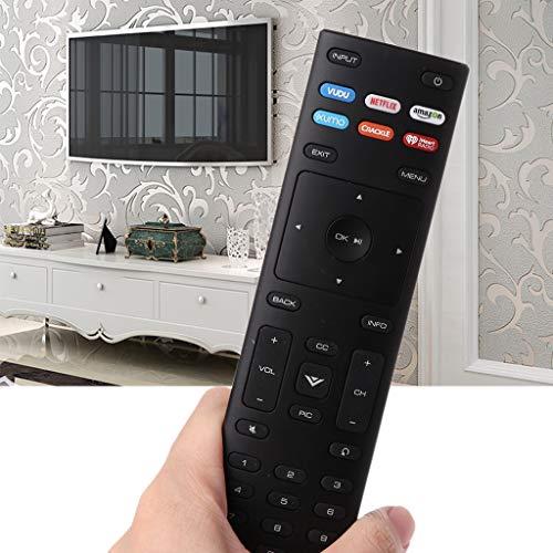 Youliy XRT136 Fernbedienung für Vizio Smart TV D24f-F1 D43f-F1 D50f-F1 E43-E2 E60-E3 E75-E1 M65-E0 M75-E1 P55-E1 P65-E1 P65-E1 P75-E1 und mehr (P55 Vizio)