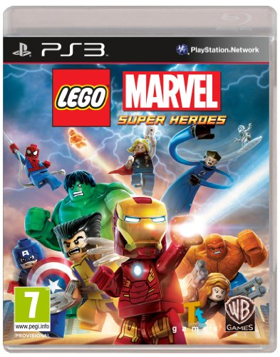 Lego Marvel Super Heroes (PS3)  available at amazon for Rs.999