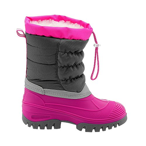 C.P.M. Hanki, Chaussures de Trekking et Randonn&EacuteE Mixte Adulte Hot Pink/Grey