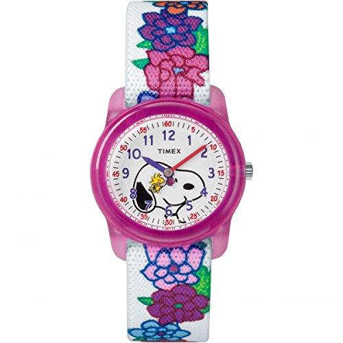 Band Pfanne Die (Timex Peanuts Mädchen-Armbanduhr TW2R41700)