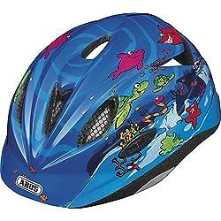 Abus Rookie - Casco de ciclismo infantil, color azul ( 52 - 57 cm )