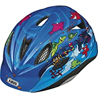 Abus Casco ciclismo Bambino Rookie, Blu (Ocean), 52-57 cm