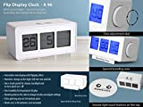 Avive Flip display clock with touch ligh...