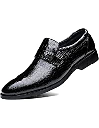 Amazon.it  Pelle Di Coccodrillo - 708516031   Scarpe da uomo ... eb147b2d982