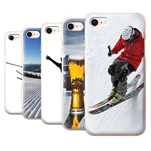 Stuff4 Hülle / Case für Apple iPhone 8 / Ski Aufzug Muster / Skifahren/Snowboard Kollektion Pack 10pcs